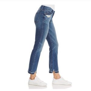 Frame Denim Jeans - Frame Released Hem Le Crop Mini Boot